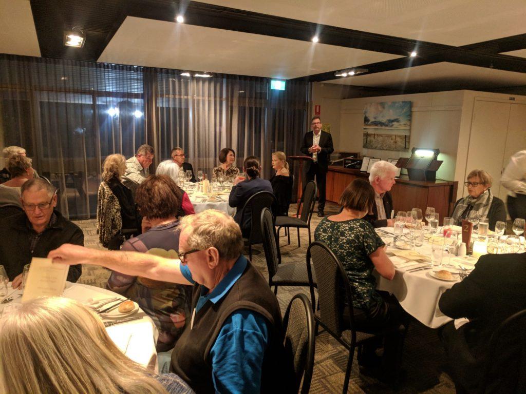 Awards Night 2018-TAFE Epicure Restaurant – South Bunbury Rotary